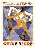 La Revue Negre Giclee Print by  Orsi