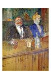 French Bar Lámina giclée por Henri de Toulouse-Lautrec