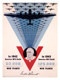 Victory, Franklin D. Roosevelt Giclee Print by Jean Carlu