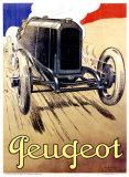 Peugeot, 1919 Giclee Print by René Vincent