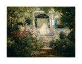Eingangstür und Garten Kunst von Abbott Fuller Graves