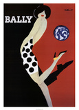 Bally Kunstdruck von Bernard Villemot