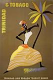 Trinidad und Tobago Kunstdruck