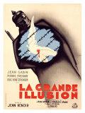 La Grande Illusion Reproduction procédé giclée par Bernard Lancy