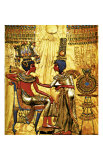 Tutankhamen Annointed by Wife Giclee Print