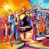 Full Swing II Kunst von Alfred Gockel