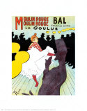 Moulin Rouge, c.1891 Posters by Henri de Toulouse-Lautrec