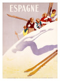Espagne Giclee Print by  Morell