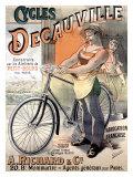 Decauville-Fahrräder Giclée-Druck von Alfred Choubrac