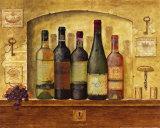 Weinsammlung I Poster von G.p. Mepas