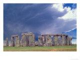 Stone Henge, W Essex, England Reproduction photographique par David M. Dennis