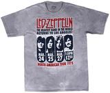 Led Zeppelin - Zeppelin L.A. 1975 T-shirts