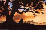 Filmposter Gejaagd door de wind, Gone With The Wind, 1939 Poster