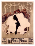 Le Frou-Frou Giclee Print by Lucien-Henri Weiluc
