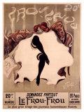 Vintage  Le Frou  Frou Lámina giclée por Lucien-Henri Weiluc
