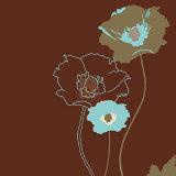 Golden Poppy IV Posters av Kate Knight