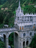 Santuario De Las Lajas Neo-Gothic Church, Las Lajas, Colombia Reproduction photographique par Krzysztof Dydynski