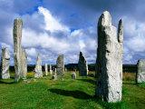 Calanais Standing Stones, Callanish, United Kingdom Lámina fotográfica por Mark Daffey