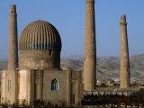 Darulaman Palace (Kings Palace) Home of King Zahir Shah, Herat, Afghanistan Fotografie-Druck von Stephane Victor