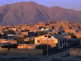 Cityscape at Sunrise, Kabul, Afghanistan Fotoprint av Stephane Victor