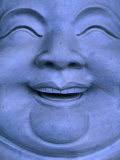 Detail of Buddha statue, Hualien, Taiwan Photographic Print by Martin Moos
