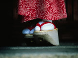 Traditional Geta (Wooden Sandals), Kyoto, Kinki, Japan, Photographic Print by Frank Carter