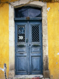 Doorway in Old Venetian Quarter, Hania, Crete, Greece Fotografie-Druck von Diana Mayfield