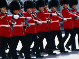 Coldstream Guards on Parade, London, United Kingdom Photographic Print by Neil Setchfield