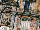 Building Facades in Plaza Mayor, Madrid, Comunidad De Madrid, Spain Photographic Print by Christopher Groenhout