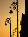 Georgian Lanterns at Sunset, Dublin, Ireland Photographic Print by Martin Moos
