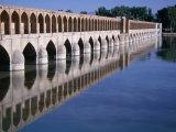 Si-O-Se Bridge, Bridge of 33 Archs, Esfahan, Iran Photographic Print by Simon Richmond