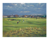St. Andrews 16th - Corner Of The Dyke Limited Edition by Peter Munro