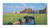 St. Andrews - A Panorama Reproduction pour collectionneur par Peter Munro