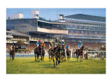York Races Collectable Print by Graham Isom