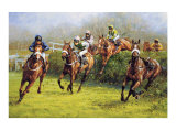 The Grand National (Monty's Pass) Reproduction pour collectionneur par Graham Isom