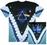 Pink Floyd - Pyramid V-Dye T-skjorte
