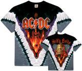 AC/DC- Hells Bells V-Dye (Front/Back) T-skjorte