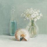 White Flower Spa Kunstdrucke von Danhui Nai