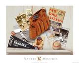 Vintage Yankees Posters by Robert Downs