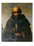 Diogenes, Palatine Gallery, Pitti Palace, Florence Giclée-tryk af Carlo Dolci