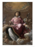 St. Stephen, Conserved at the Galleria Estense in Modena Giclée-tryk af Giacomo Cavedoni