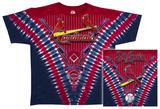 MLB: Cardinals V-Dye T-shirts