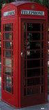 English Phone Booth Cardboard Cutouts