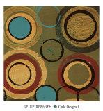 Circle Designs I Pôsters por Leslie Bernsen