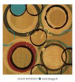 Circle Designs II Arte por Leslie Bernsen