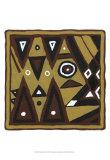 Tribal Rhythms II Art by Virginia A. Roper