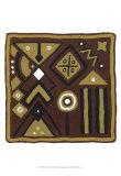 Tribal Rhythms IV Prints by Virginia A. Roper