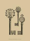 Antique Keys I Lámina