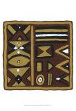 Tribal Rhythms I Posters by Virginia A. Roper