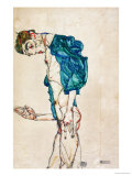 Preacher (Self-Portrait), 1913 Giclée-tryk af Egon Schiele